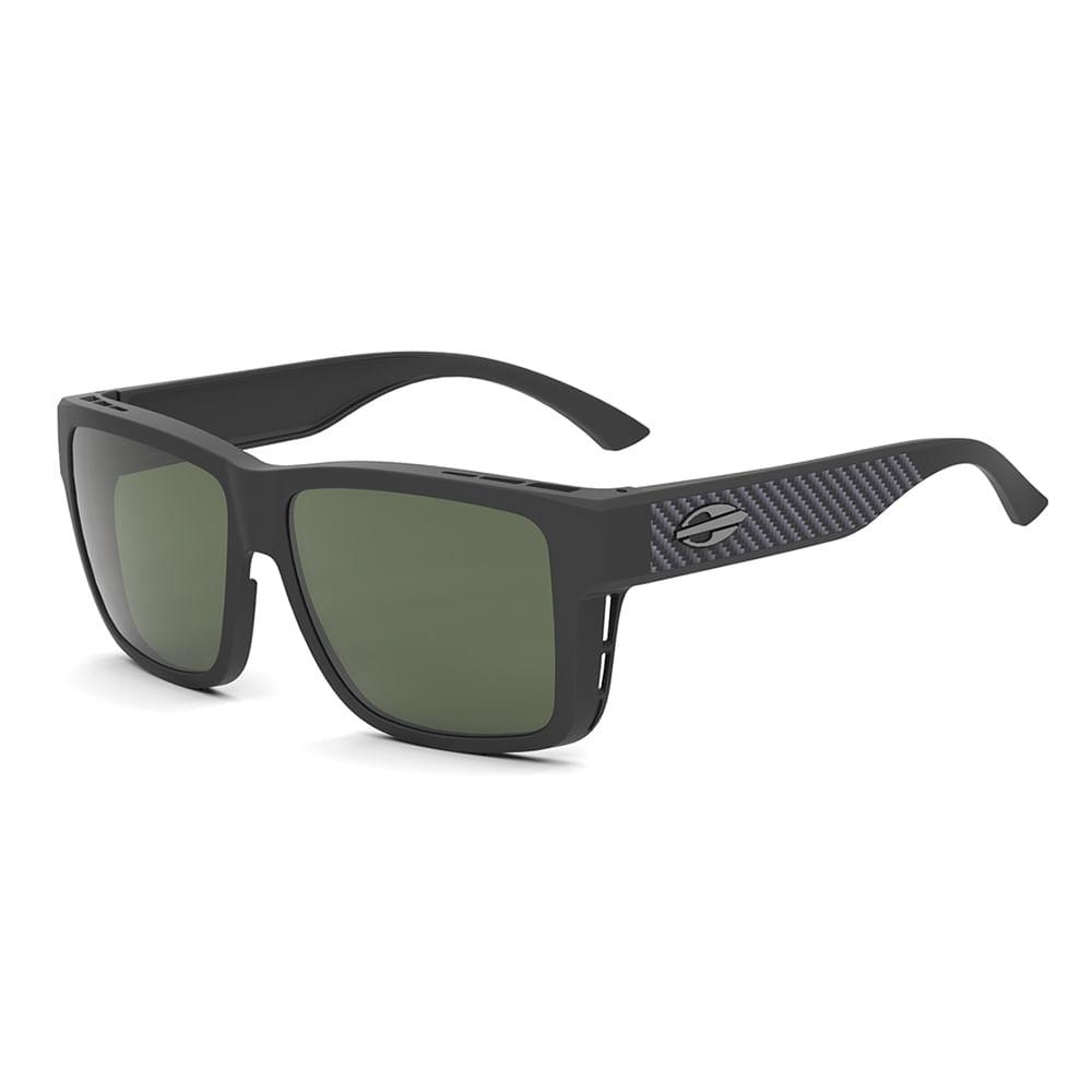 48f635fe94907 Óculos de sol mormaii overlap preto fosco verde g15 polarizado ...