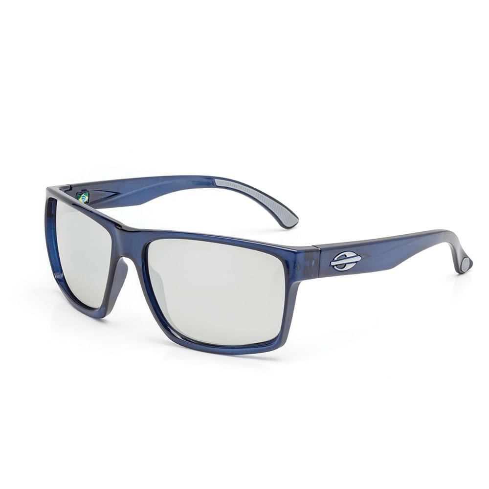 e50e51af1 Óculos de sol mormaii infantil carmel nxt azul translúcido brilho lente  cinza