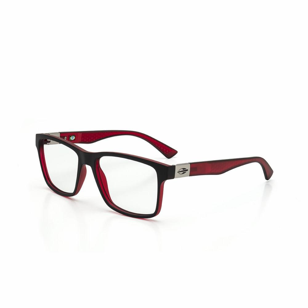 7e7e9fa1c Óculos de grau mormaii moscou preto parede com vermelho - mormaiishop