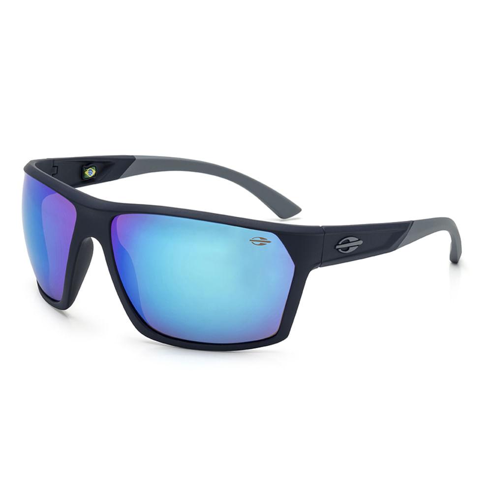 bc77dc981 Oculos de sol mormaii storm azul escuro fosco lente revo azul ...