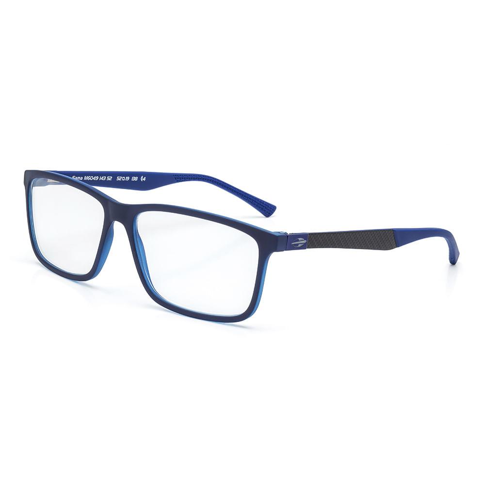 2ac7b9df1 Óculos de grau mormaii sama azul escuro translucido - mormaiishop