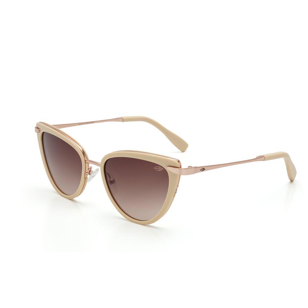 f6a423cd1 Óculos de sol mormaii m0070 creme com dourado lente marrom - mormaiishop