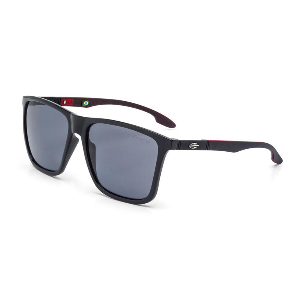 743625d9c Oculos de sol mormaii hawaii preto brilho com vermelho fosco ...