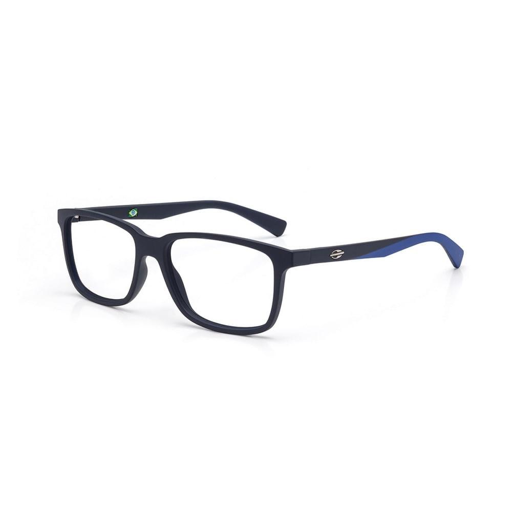 01bf1457e Óculos de grau mormaii manila azul escuro com detalhe azul - mormaiishop