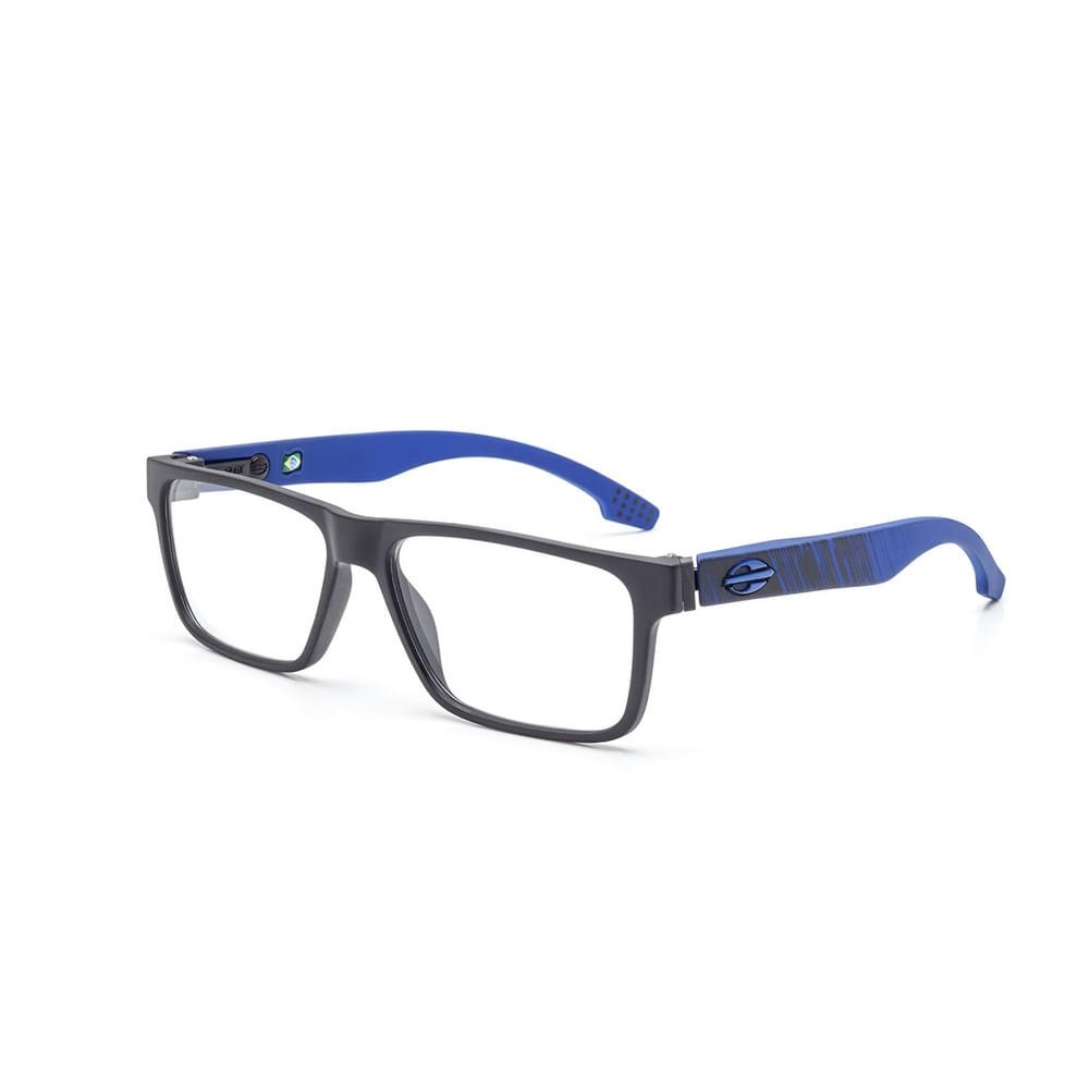c9d6f38a5 Óculos de grau mormaii oceanside preto fosco e azul - mormaiishop