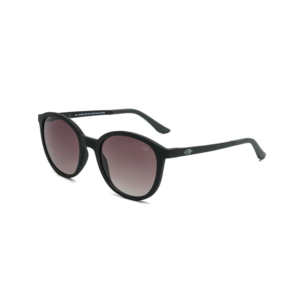 ed978be88 Óculos de sol mormaii deli preto fosco lente marrom degradê ...