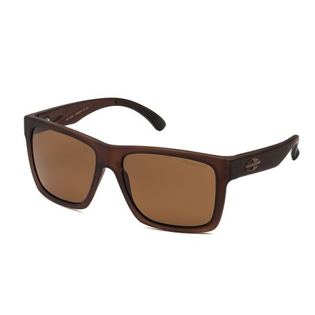 56fac8068 Óculos de sol mormaii san diego marrom translucido fosco lente marrom  polarizado TU