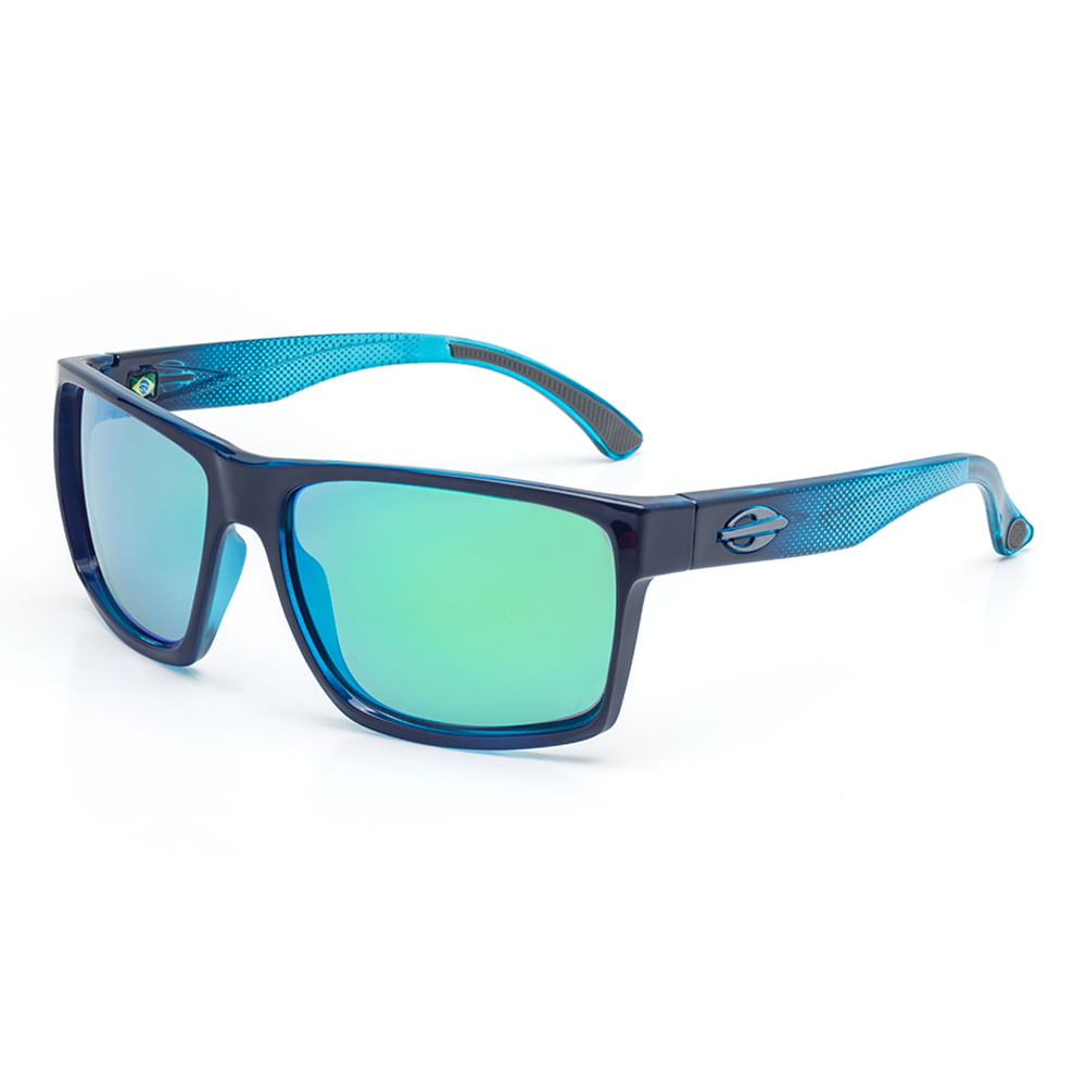 6442dcd16 Óculos de sol mormaii infantil carmel nxt azul escuro lente verde espelhada  TU. M0060K4785