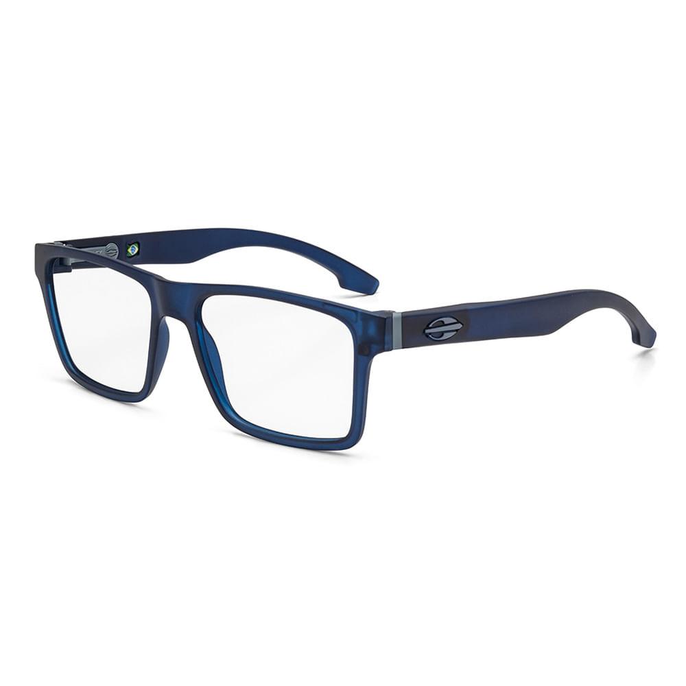 7cc7c81ae Óculos de grau mormaii rx swap clip on azul escuro fosco lente polarizada.  M6057K2656