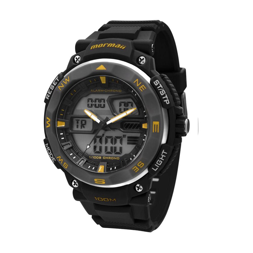 3555907e40e Relógio Mormaii Masculino - MO13611 8Y - mormaiishop
