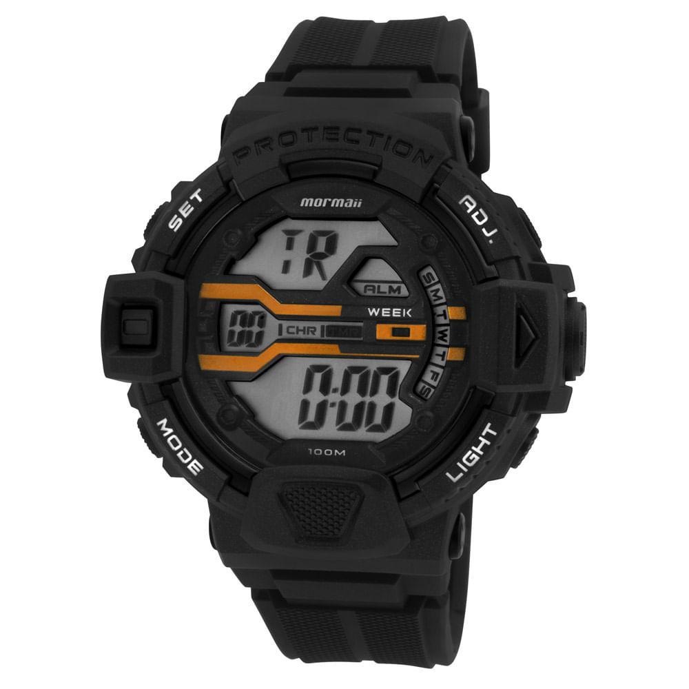 Relógio Mormaii Masculino MOM1102AB 8L - mormaiishop 0461adee9e