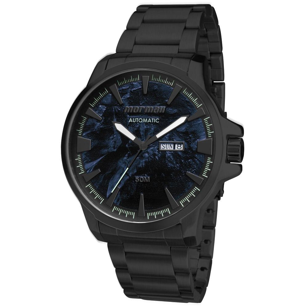0367be930d508 Relógio Mormaii MO8205AC 4P Preto - mormaiishop