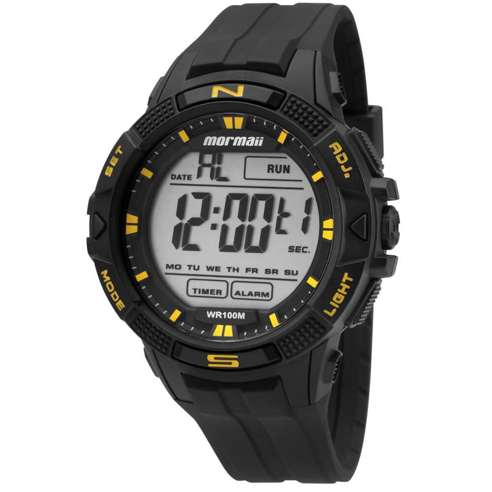 Relógio Mormaii Acqua MO5001 8Y Preto - mormaiishop f63305a98a