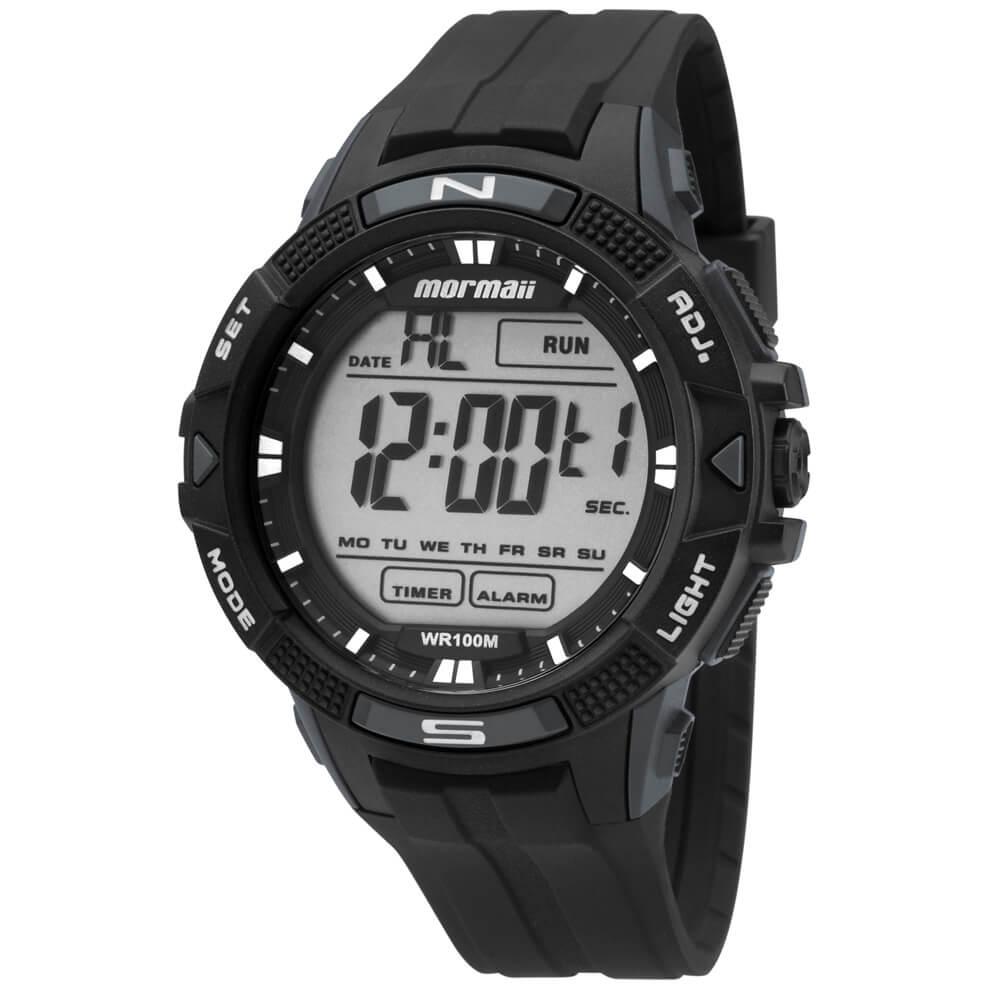1280193c52e Relógio Mormaii Acqua MO5001 8C Preto
