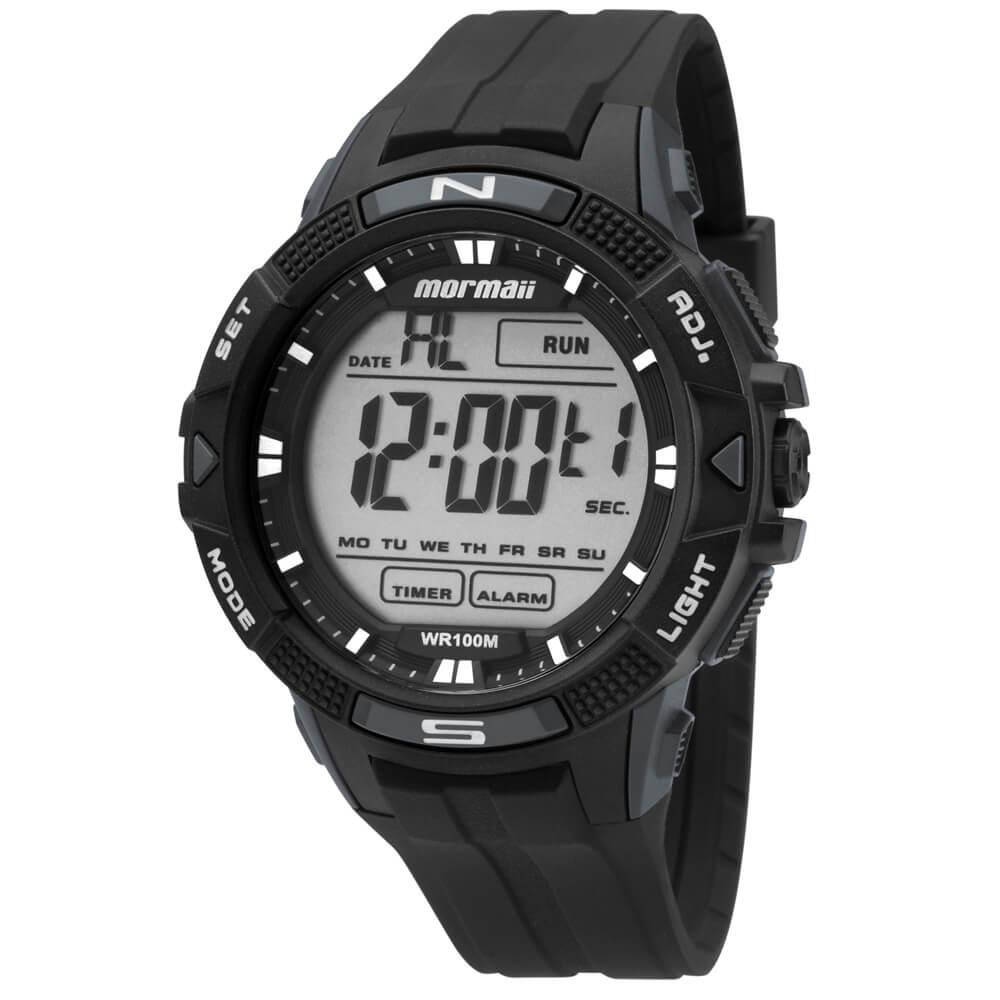 0b0b830f46f15 Relógio Mormaii Acqua MO5001 8C Preto