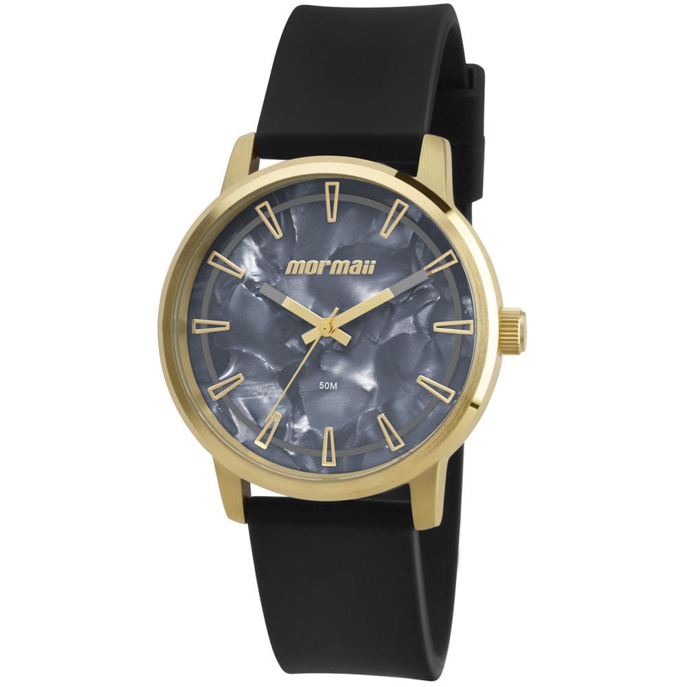 Relógio Mormaii Maui MO2035DN 8P Dourado - mormaiishop 1b00b7b1b6