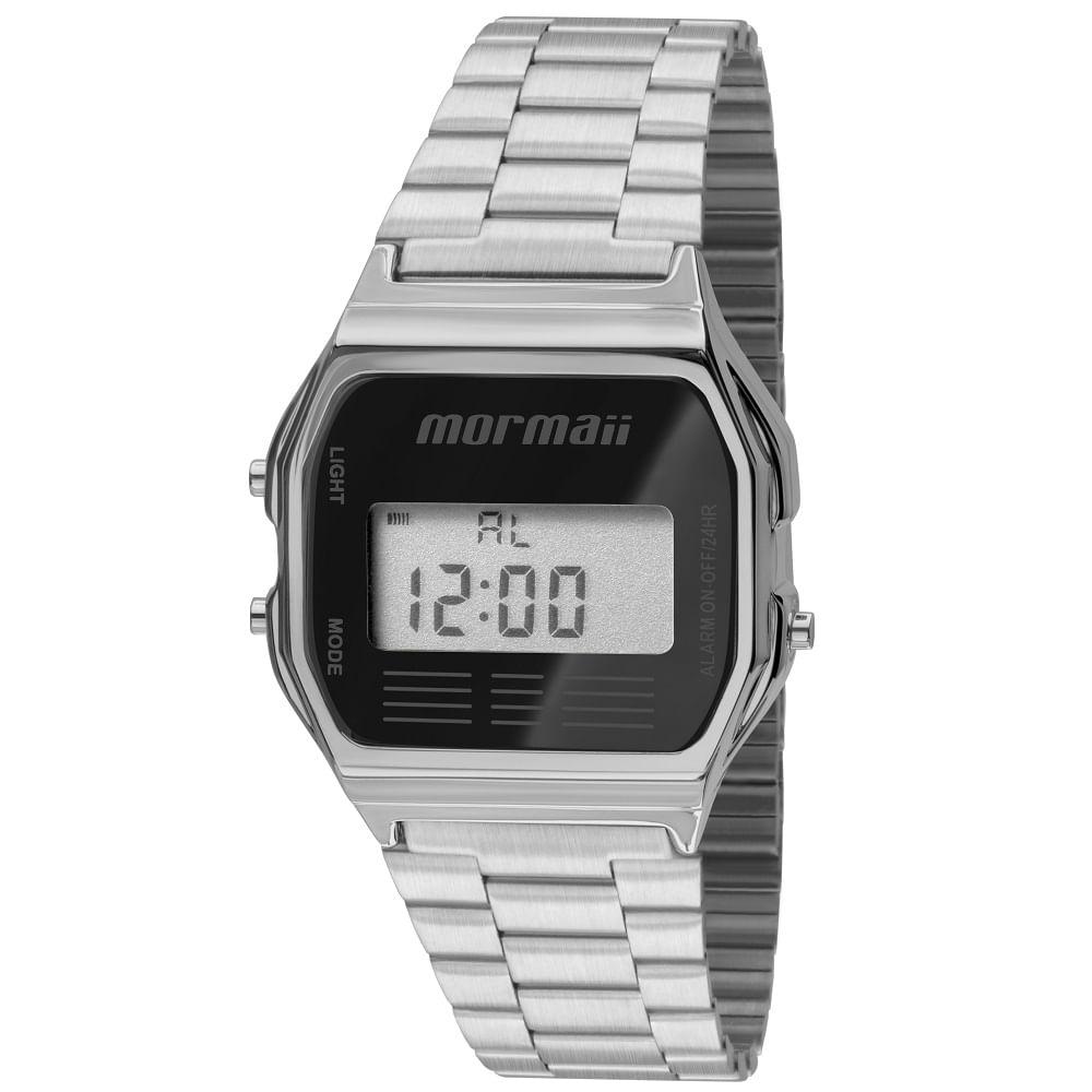 2661f3ade92 Relógio Mormaii Maui MOJH02AA 3P Prata - mormaiishop