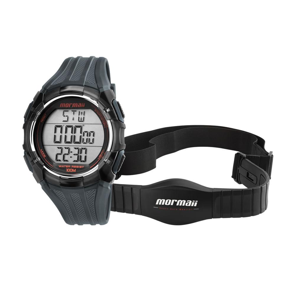 83eb4a2e6ec Relógio Monitor Cardíaco Mormaii - MO11558A 8R - mormaiishop