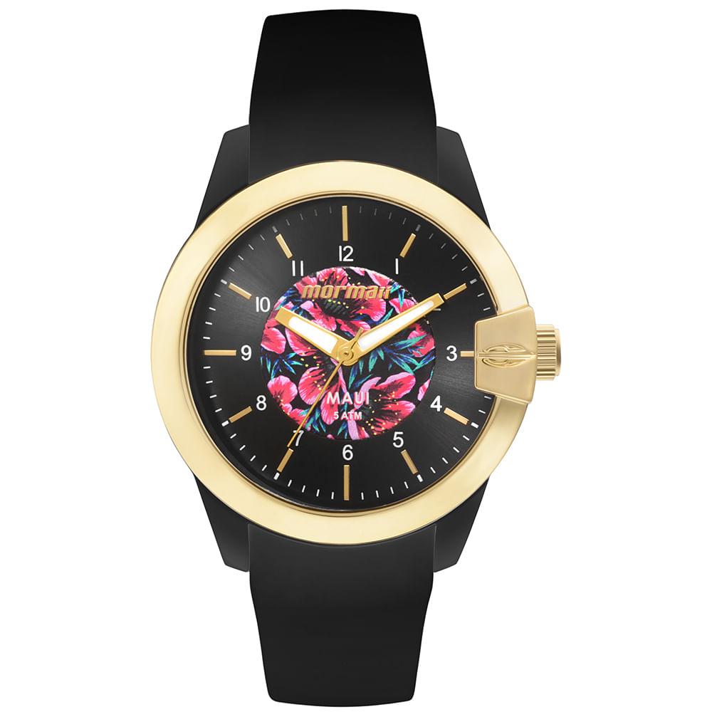 a0f7072a94c56 Relógio Feminino Mormaii Maui Floral - MO2036II 8P - mormaiishop