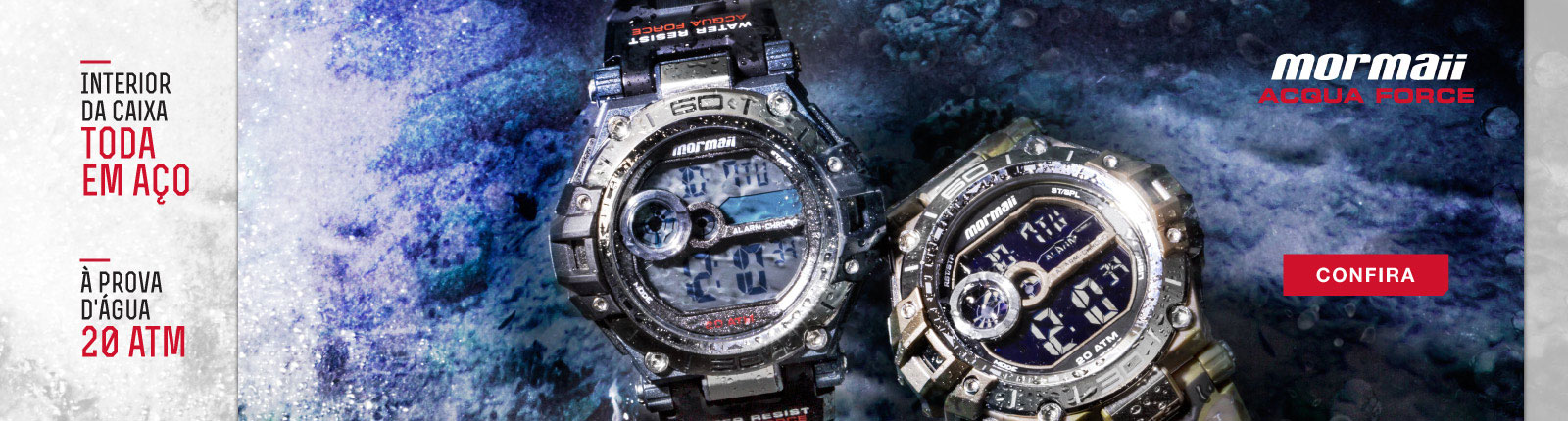Relógio Acqua Force