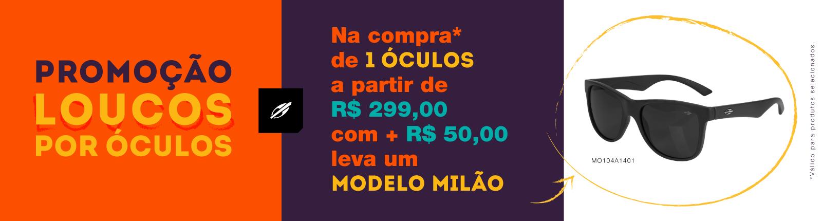 Promo óculos milão