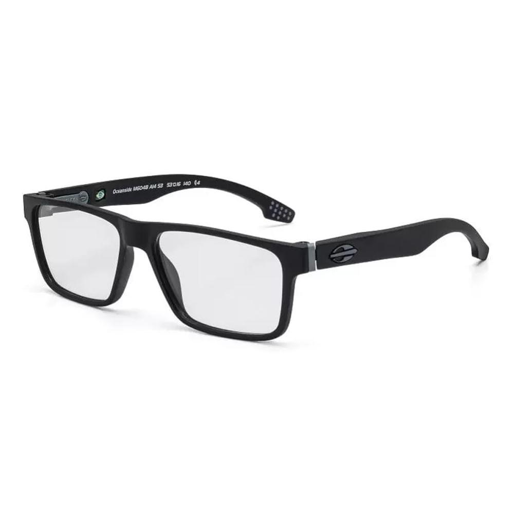 Óculos de grau mormaii oceanside preto fosco