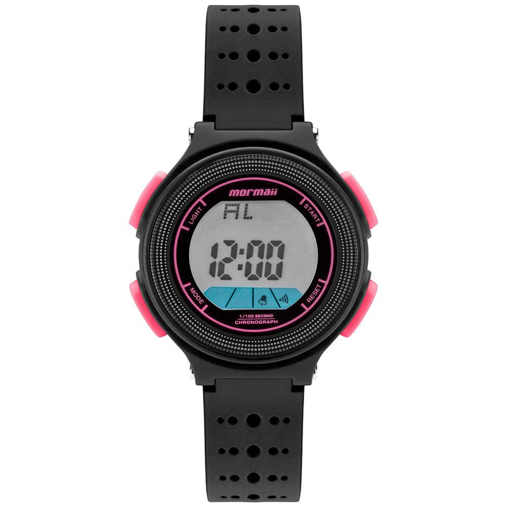 Relógio digital mormaii nxt preto mo0974b/8t