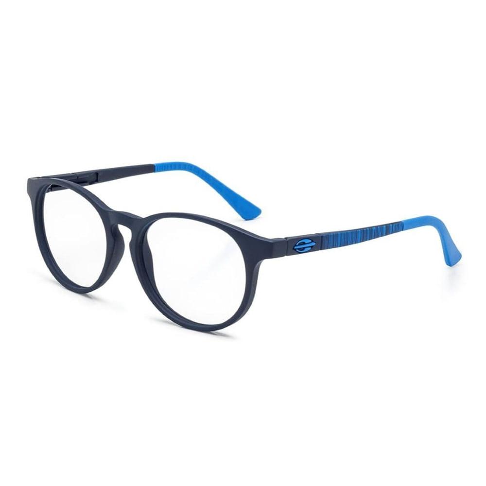 Óculos de grau mormaii infantil ollie azul escuro