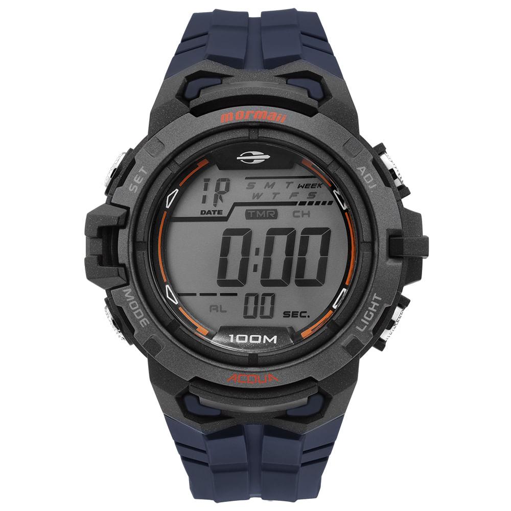 Relógio Mormaii Masculino Action -MO1147A 8A - mormaiishop f630ee2deb