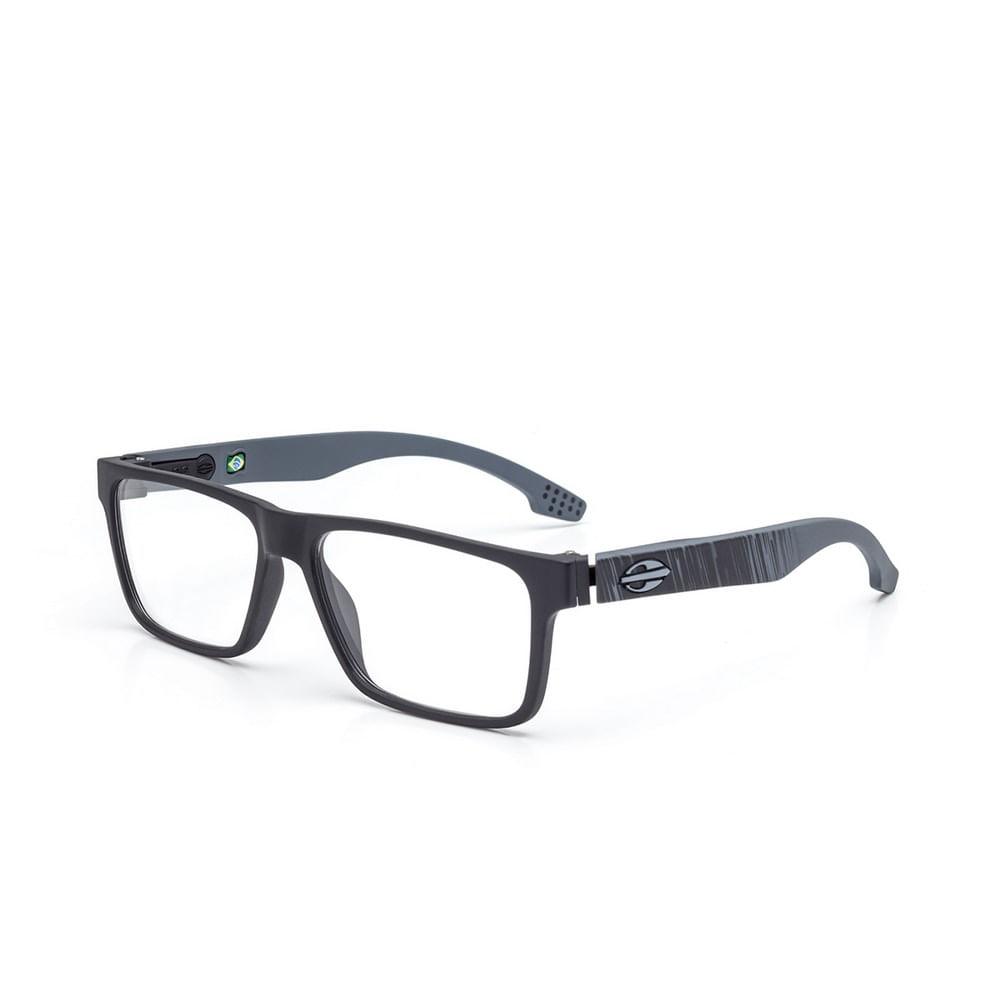 Óculos de grau mormaii oceanside preto fosco e cinza