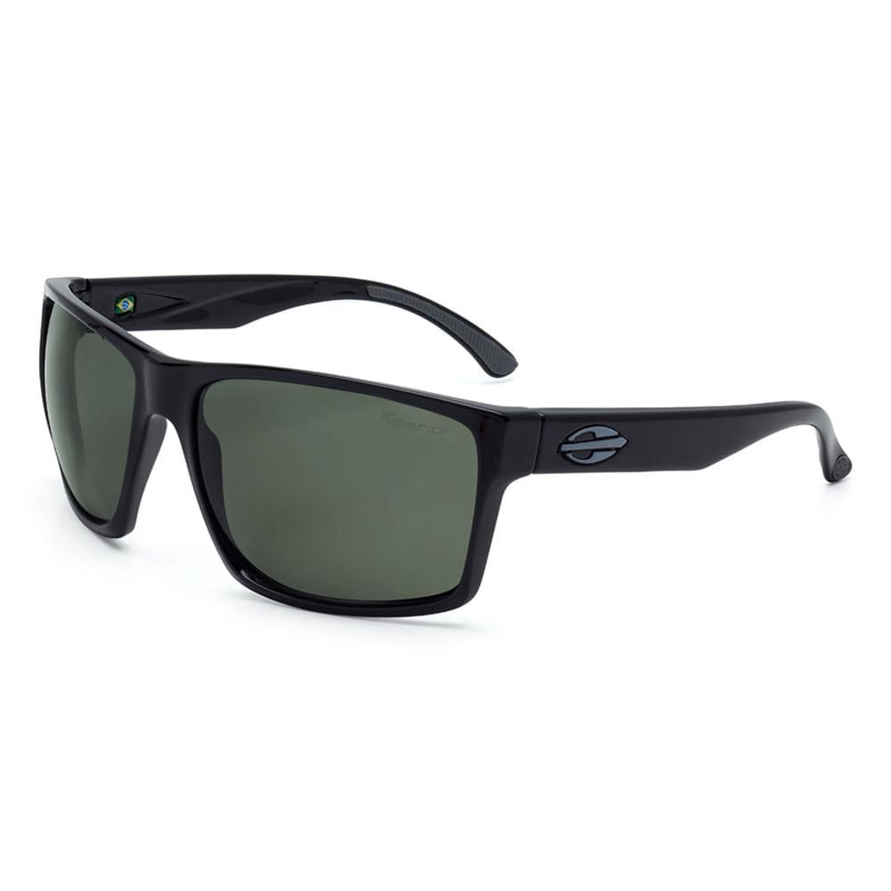 Óculos de sol mormaii carmel preto brilho lente g15 polarizada