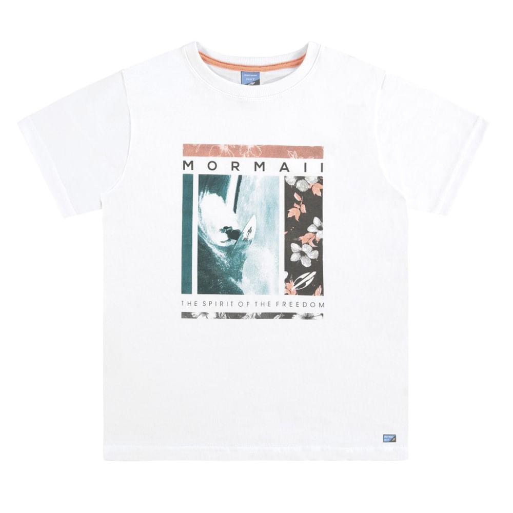 Camiseta infantil masculino mormaii