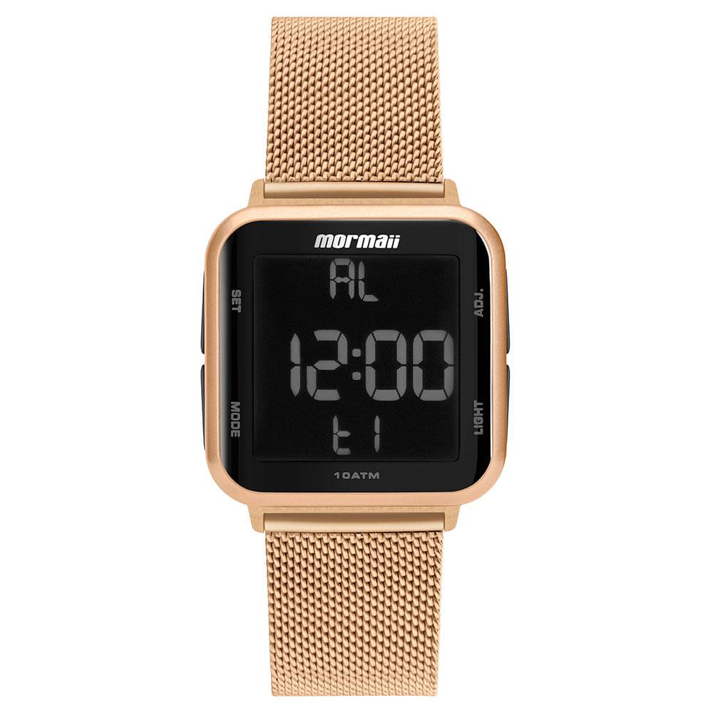 Relógio digital mormaii rose mo6600af/8j