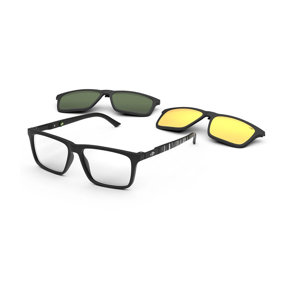 Óculos de grau clip-on mormaii swap 4