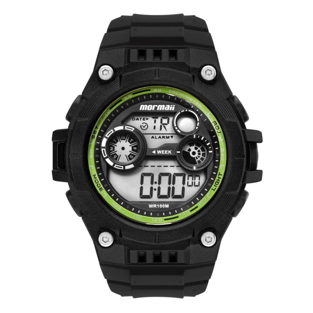 Relógio mormaii digital lumi wave mo9000c8v