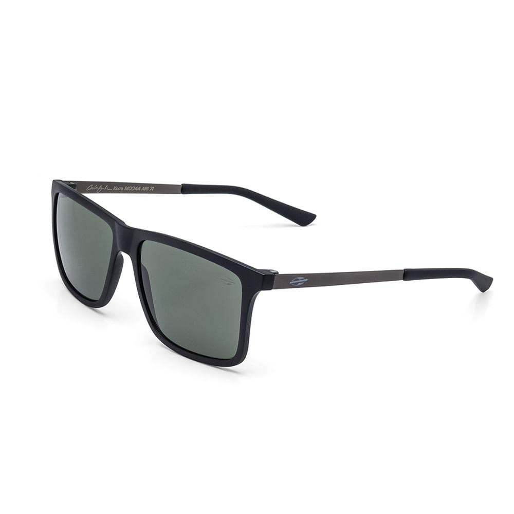 a16f2954cc0b3 Óculos de sol mormaii kona carlos burle preto fosco lente verde -  mormaiishop