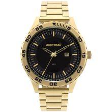 c8cca784a2d Relógio Morm Masculino El Basic Dourado - MO2115AZ 4P