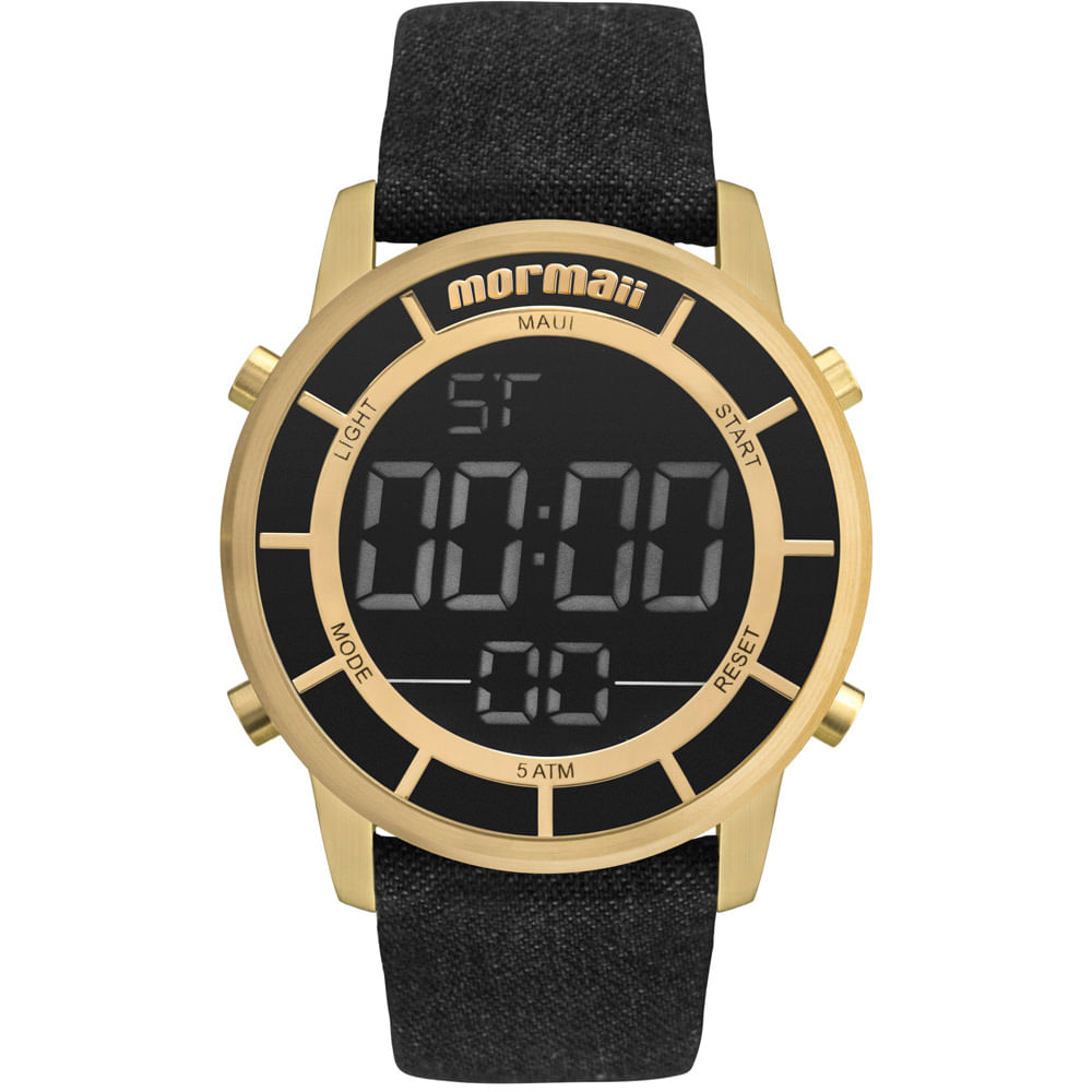 Relógio Mormaii Feminino Maui Sunset Dourado - MOBJ3463DE 2X ... 48fe737bbd
