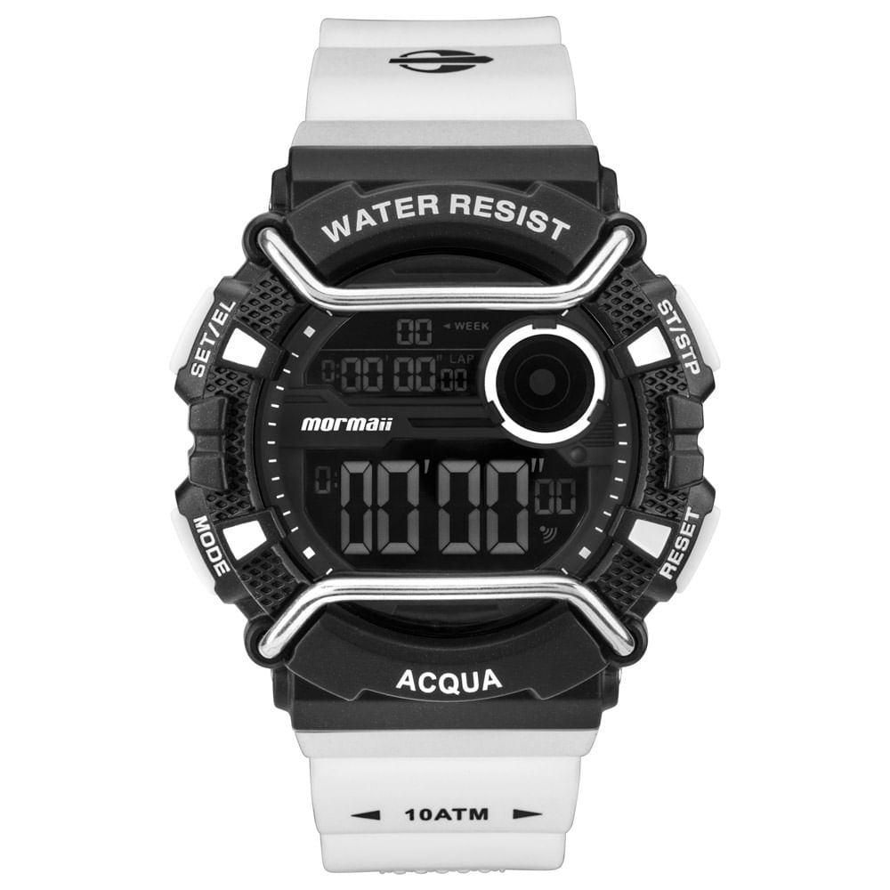 Relógio Mormaii Masculino Acqua Action Preto - MONXA 8P - mormaiishop 91165886a5