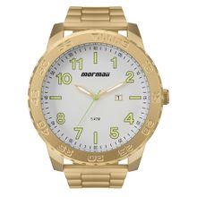 5ab1402a4 Relógio Mormaii Masculino Art Dourado