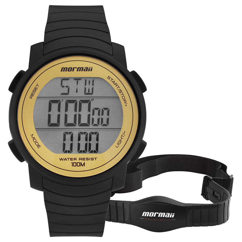 d90ec215029 Relógio Mormaii Feminino Performance Dourado - MO11560AA 8D