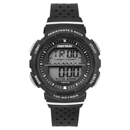 70190de90fb Relógio infantil Mormaii Unissex Fun Preto - mormaiishop